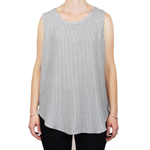 Tienda Ho Clothing Tank Top in Natural Stripe