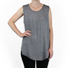 Tienda Ho Clothing Tank Top in Silver