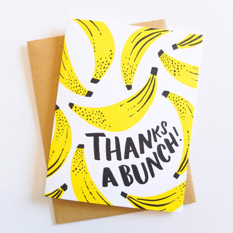 """Thanks a Bunch"" Card"
