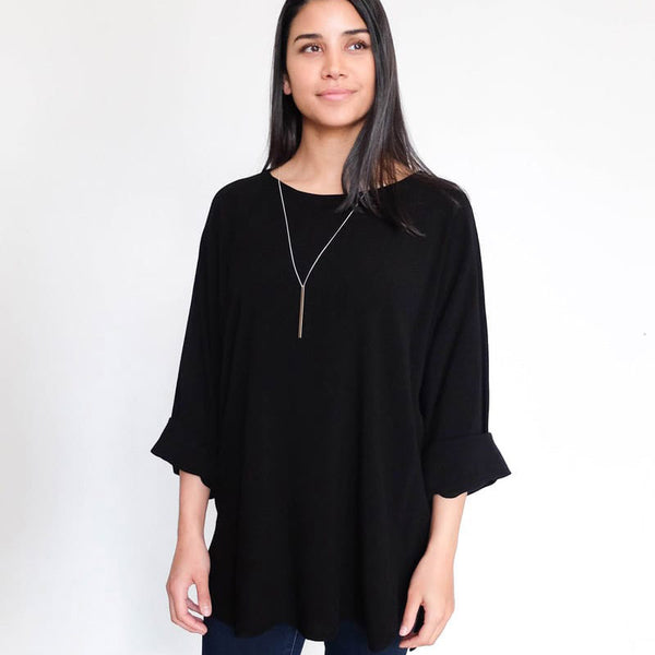 Tienda Ho Clothing Smara Top in Black