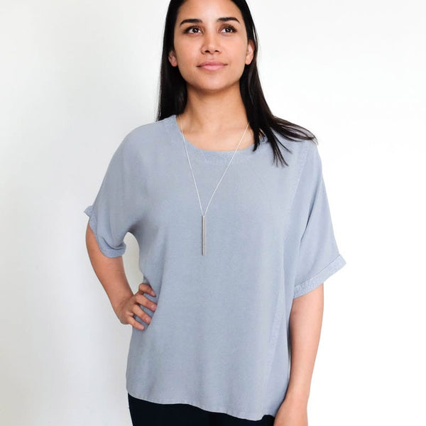 Tienda Ho Clothing Taznakte Top in Moonstone