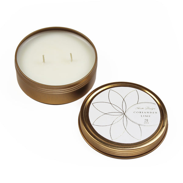 Axiom Travel Candle - Coriander Lime