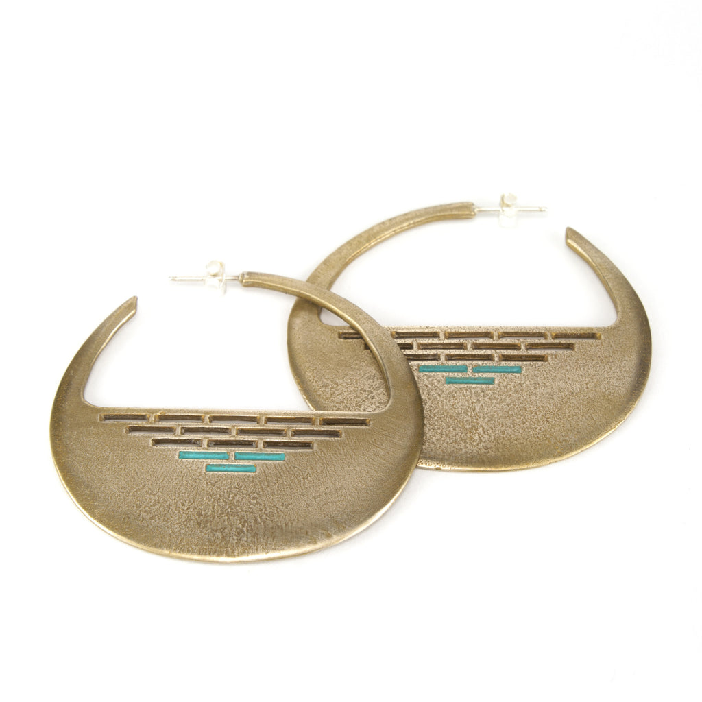 Bahusia Hoop earrings