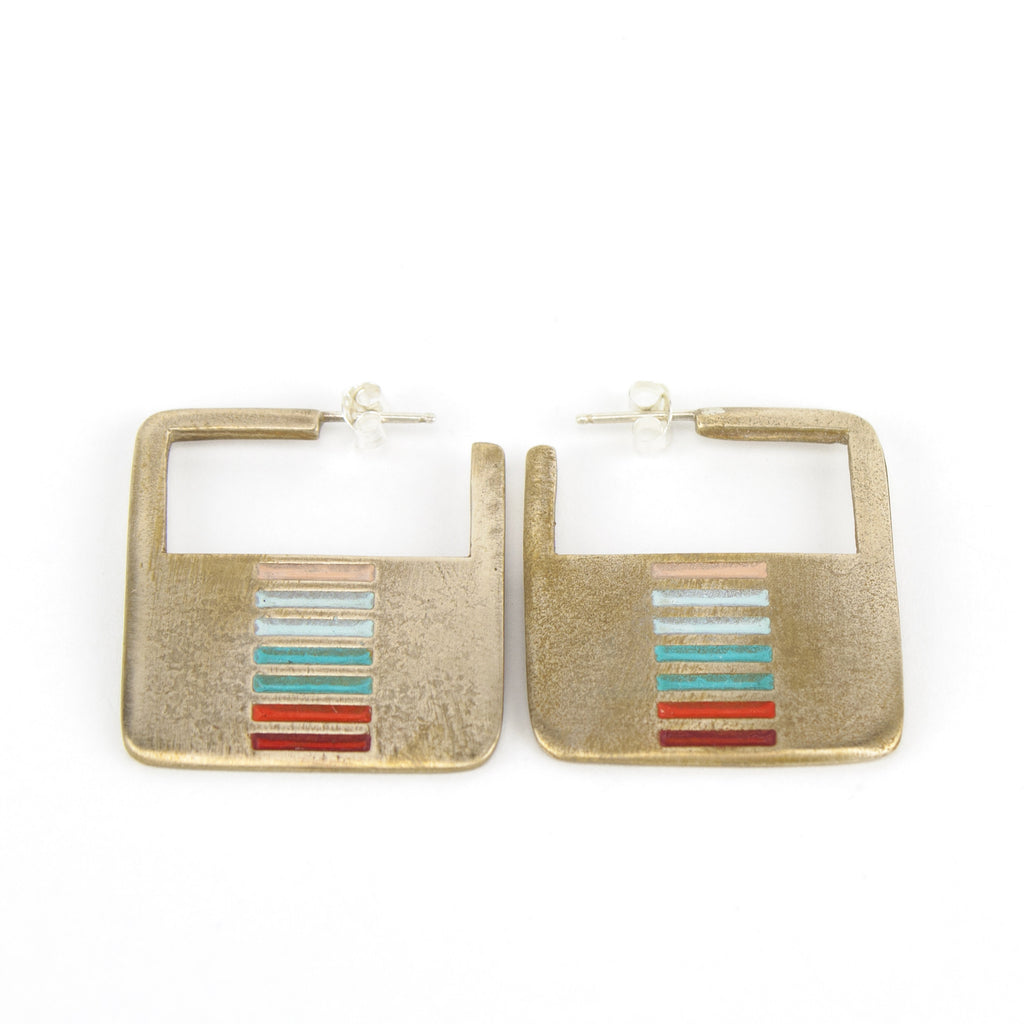 Dalarna Hoop earrings