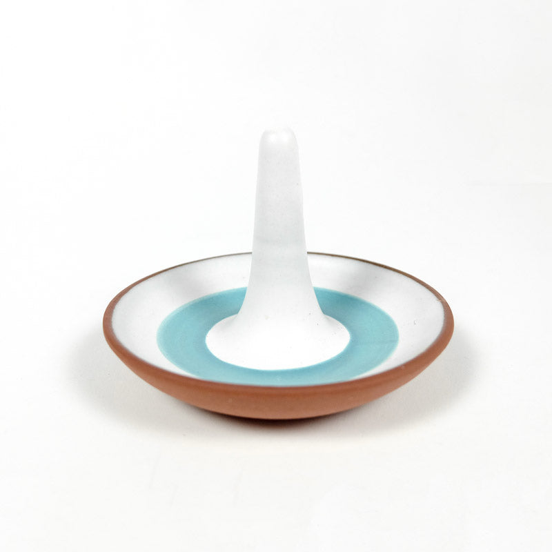 Ring Dish with Blue Stripe