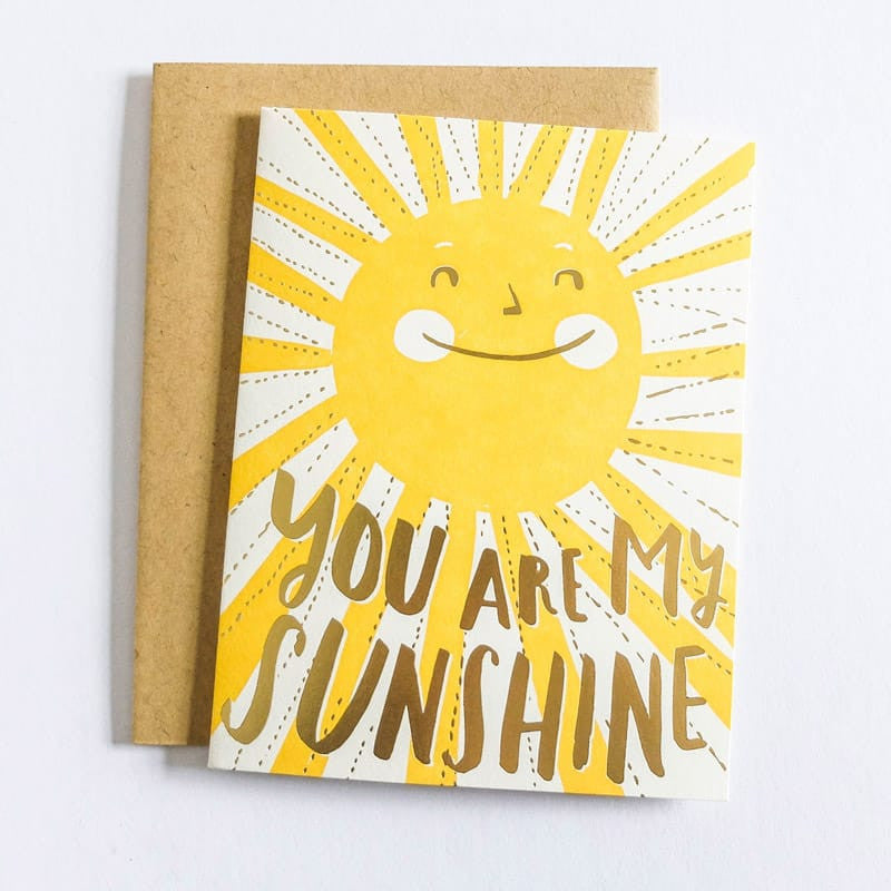You Are My Sunshine Card By Hello Lucky Betsy Iya