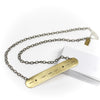 Morse Code Romance necklace