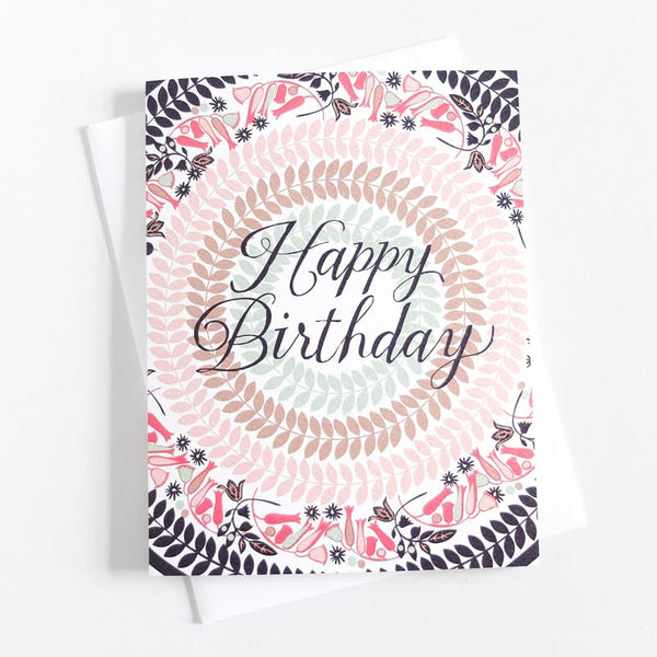 Banquet Cards Beaux Birthday Greetings Card