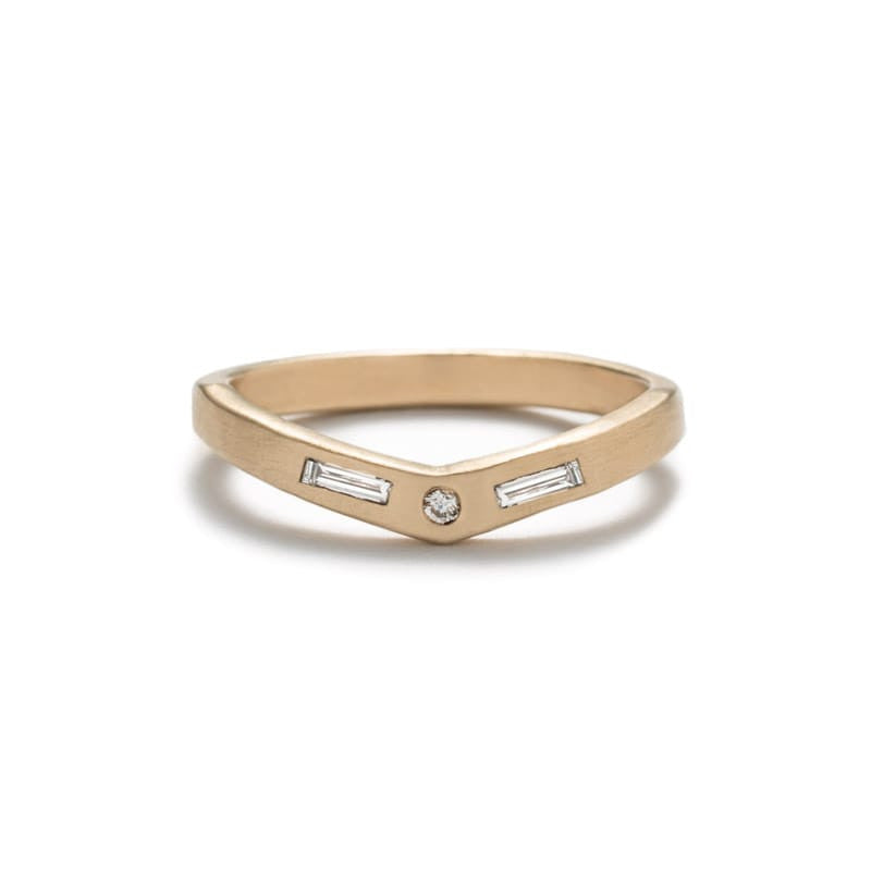 Earth Diamond Basio Ring - White Diamond