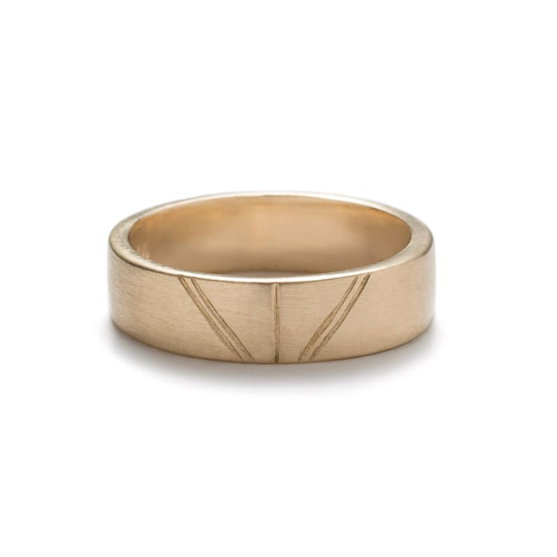 Tange Unisex Wedding Band