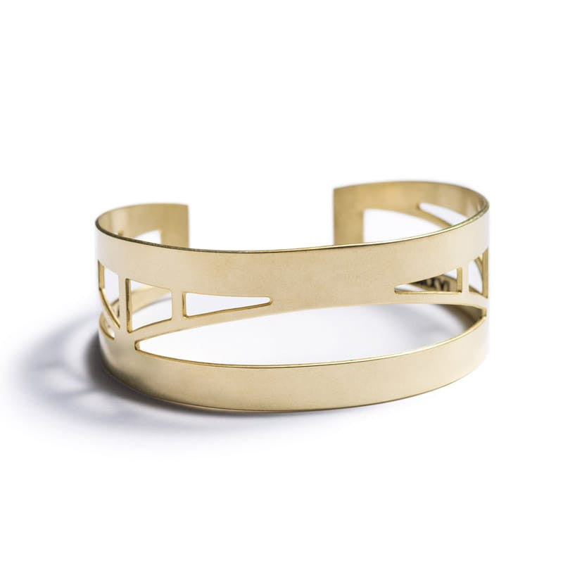 Sellwood Bridge Cuff Bracelet