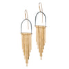 Demimonde Brass Celestial Earrings