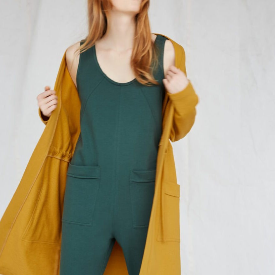 Owen Jumpsuit in Spruce