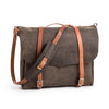 Goertzen Adventure Equipment Large Leather Messenger Bag