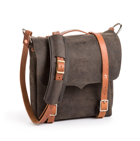 Goertzen Adventure Equipment Scout Leather Messenger Bag