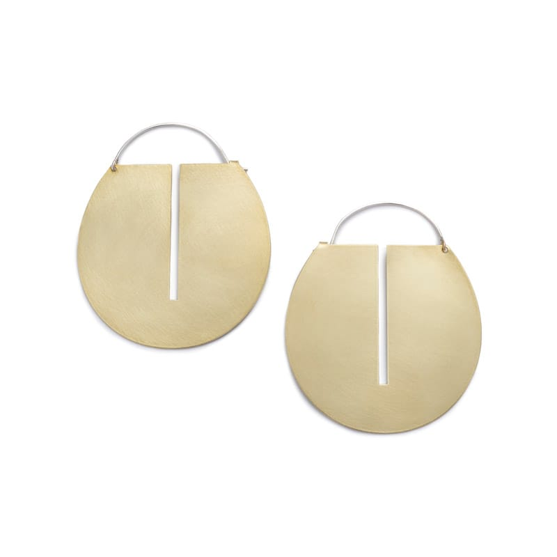 Lié hoop earrings - Large