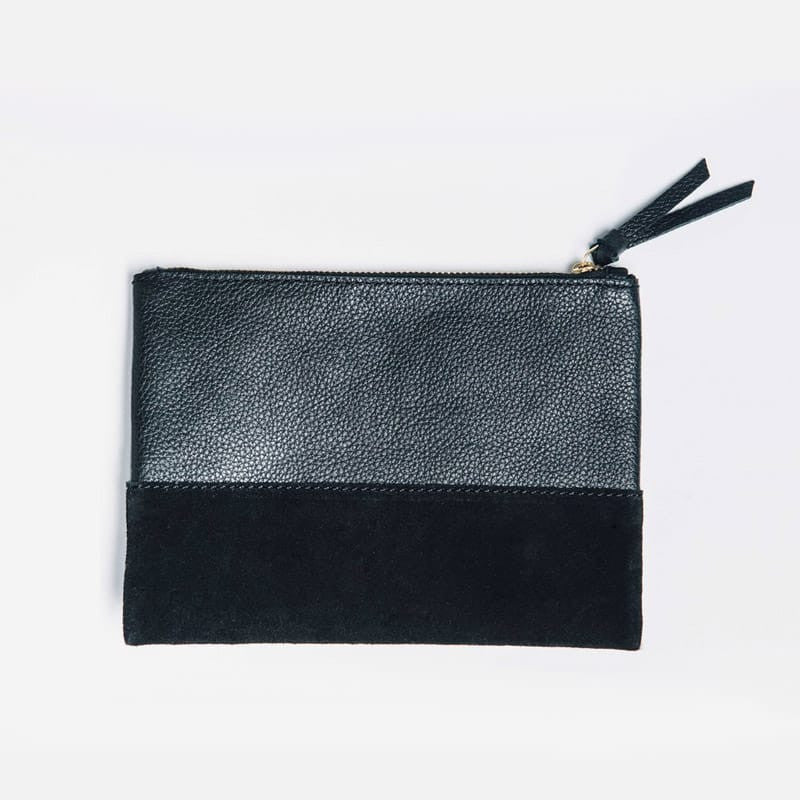 Marigold Cosmetic Bag - Black