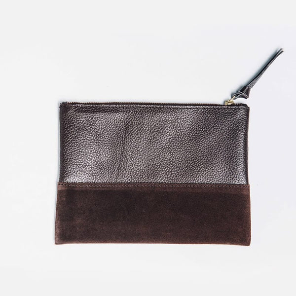 Marigold Cosmetic Bag - Brown