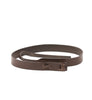 Simple Brown Leather Belt