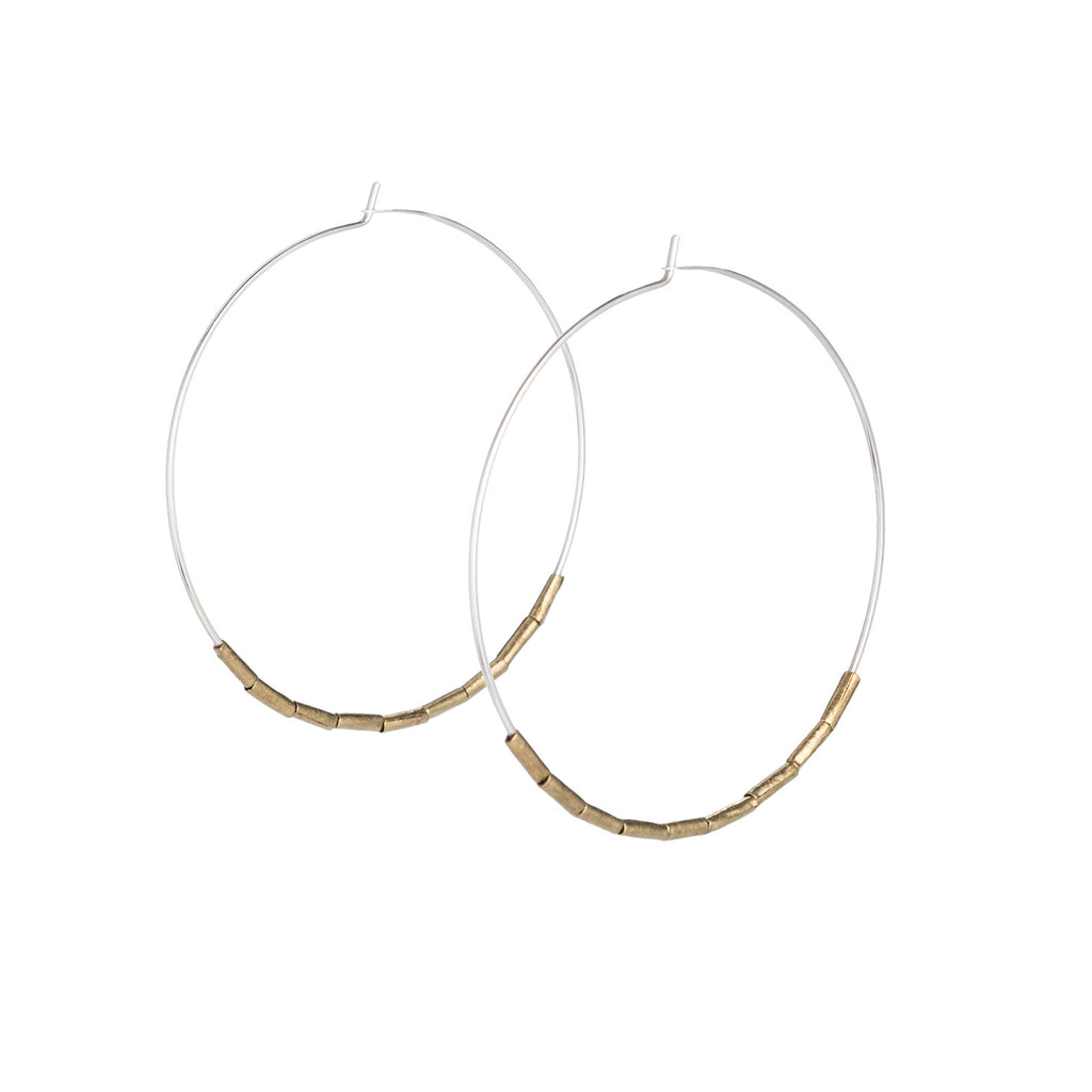 Uusi hoop earrings