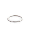 betsy & iya smooth sterling silver stacking ring
