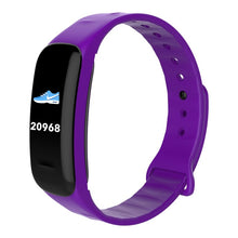 Load image into Gallery viewer, Color Screen Smart Bracelet Waterproof Heart Rate Monitor Health Fitness