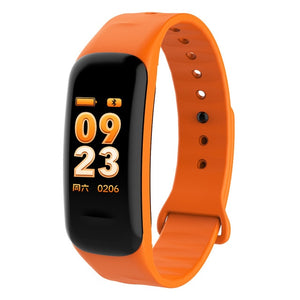 Color Screen Smart Bracelet Waterproof Heart Rate Monitor Health Fitness