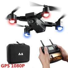Load image into Gallery viewer, Professional Camera Drone Double 1080P GPS Quadcopter FPV RC Drone S20 With Live Video And Return Home Foldable RC Quadrocopter