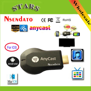 128M Anycast m2 ezcast Miracast Any Cast Wireless DLNA AirPlay Mirror HDMI TV Stick Wifi Display Dongle Receiver for IOS Android