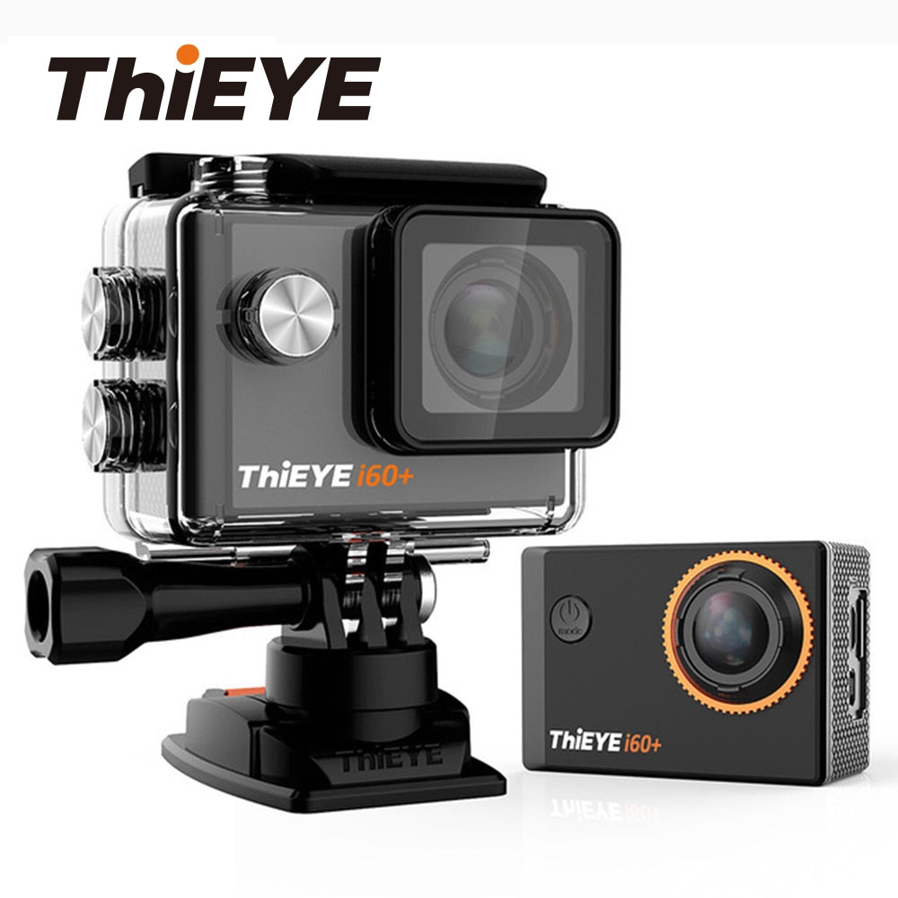 ThiEYE i60+ 4K 30fps Full HD WiFi Action Camera 60M Waterproof Sports video Camera 170 Degree Wide-angle Sport Cam