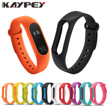 Load image into Gallery viewer, Mi band 2 Colorful Strap Bracelet Accessories Pulseira Miband 2 Replacement Silicone Wriststrap Smart Wrist for Xiaomi Mi Band 2