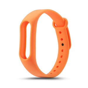 Mi band 2 Colorful Strap Bracelet Accessories Pulseira Miband 2 Replacement Silicone Wriststrap Smart Wrist for Xiaomi Mi Band 2