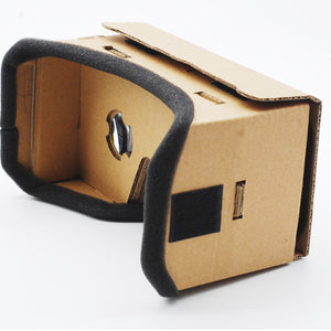 Light Castle Google Cardboard Style Virtual Reality VR BOX II Glasses For 3.5 - 6.0 inch Smartphone Glass for iphone for samsung