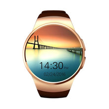 Load image into Gallery viewer, Kaimorui Smart Watch Men KW18 Passometer Monitor Heart Rate Phone watch SIM Card for IOS Android Bluetooth Watch Smart