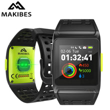 Load image into Gallery viewer, Makibes BR1 GPS Men's Women Smart Watches Bluetooth Strava ECG PPG Wristwatch Fitness Tracker Wearable Devices Smart Band