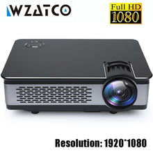 Load image into Gallery viewer, WZATCO CT580 Real Full HD Projector 1080P 1920*1080 3800Lumen HDMI Home Theatre Android 7.1 Projectors WIFI Beamer LCD Proyector