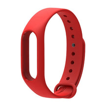 Load image into Gallery viewer, mi band 2 Strap Bracelet Accessories Pulseira Miband 2 Replacement Silicone Wriststrap Smart Wrist for Xiaomi Mi Band 2 Strap