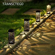 Load image into Gallery viewer, Solar Garden Pathway Lights Lawn Lamp For Garden Lantern Decoration Outdoor Path Light Wireless Waterproof Night Led Solar Lamp