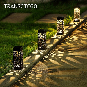 Solar Garden Pathway Lights Lawn Lamp For Garden Lantern Decoration Outdoor Path Light Wireless Waterproof Night Led Solar Lamp