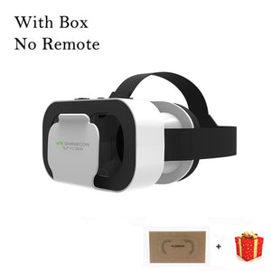 VR Shinecon G05A Casque Headset Virtual Reality Glasses 3D Helmet 3 D Google Cardboard For Smart Phone Smartphone Goggles Mobile