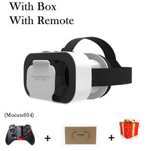 Load image into Gallery viewer, VR Shinecon G05A Casque Headset Virtual Reality Glasses 3D Helmet 3 D Google Cardboard For Smart Phone Smartphone Goggles Mobile