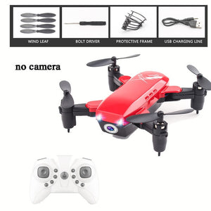 Foldable Mini Drone RC Helicopter Camera Drone With/Without HD Camera High Hold Mode Remote Control Aircraft Helicopter RC Drone