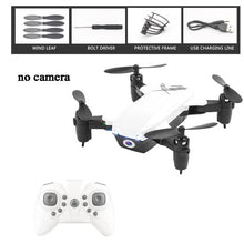 Load image into Gallery viewer, Foldable Mini Drone RC Helicopter Camera Drone With/Without HD Camera High Hold Mode Remote Control Aircraft Helicopter RC Drone
