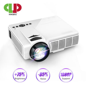Powerful Q5 LED Projector Portable Full HD Mini Projector 1080P 800*480 Resolution Home Theater Cinema Movie beamer Proyector