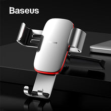 Load image into Gallery viewer, Baseus Gravity Car Phone Holder for Car CD Slot Mount Phone Holder Stand for iPhone X Samsung S10 Metal Cell Mobile Phone Holder