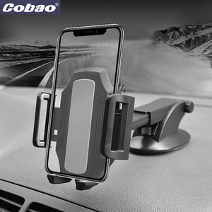 Cobao Car Holder Phone Universal 360 Adjustable Mobile Phone Holders Stands For Samsung Huawei iPhone X Mobile Phone Accessories