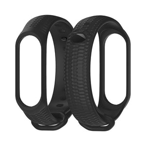Mijobs Strap Silicone Wrist Strap for Xiaomi Mi Band 3 Accessories Miband 3 Smart Wristbands Bracelet Miband 3 Strap