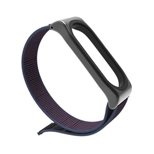 Mijobs Nylon Wrist Strap for Xiaomi mi band 3 Bracelet Replacement Watchband Smart Watch Band Accessories for Xiaomi Miband 3