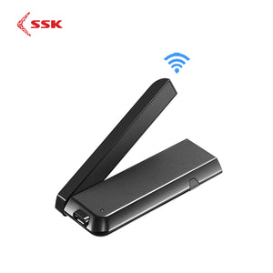 SSK Wireless HDMI Dongle Miracast 2.4/5G 1080P WiFi Media Display Wifi Display Wireless Adapter Tv Stick Miracast Airplay DLNA