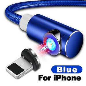 Fast Magnetic Cable Charger For iPhone & Android